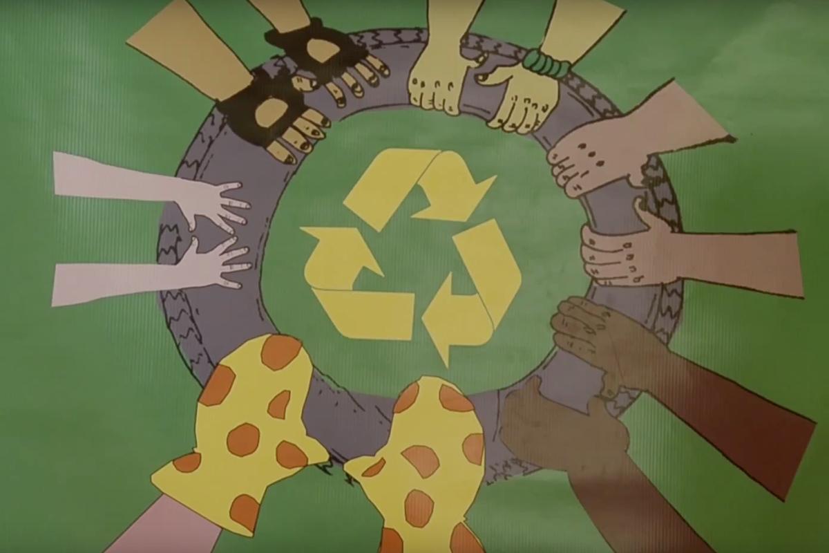 2013 - La rueda del reciclaje